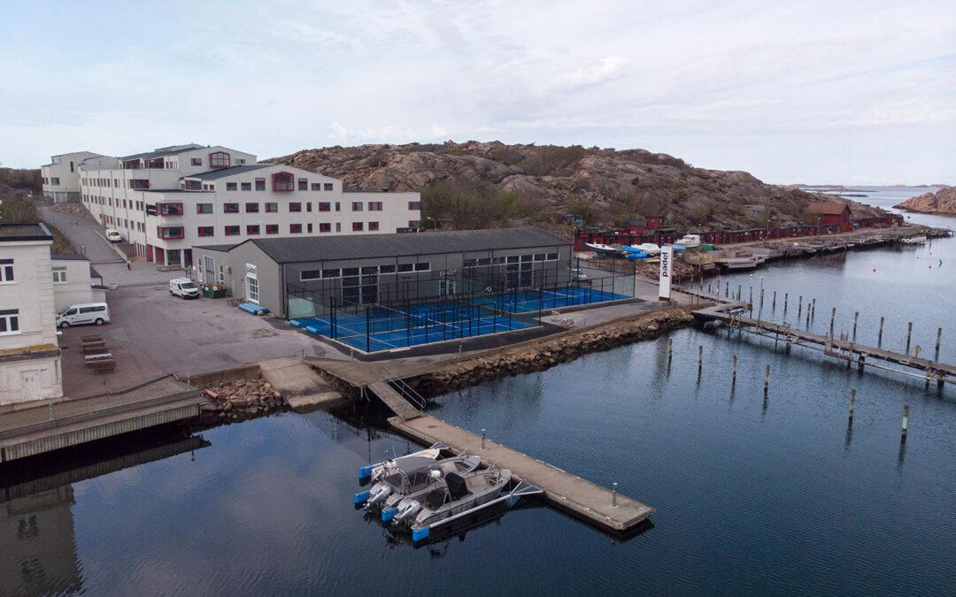 Sveriges mest havsnära padelbanor!